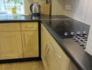 Electric ceramic hob